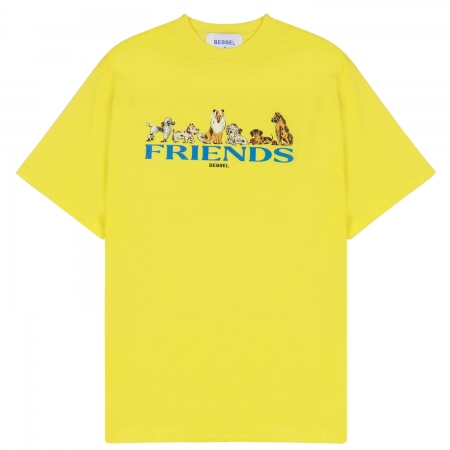 DOGS FRIENDS YELLOW