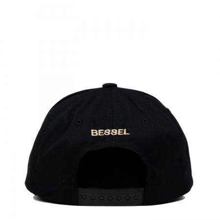 DOGS FRIENDS CAP BLACK
