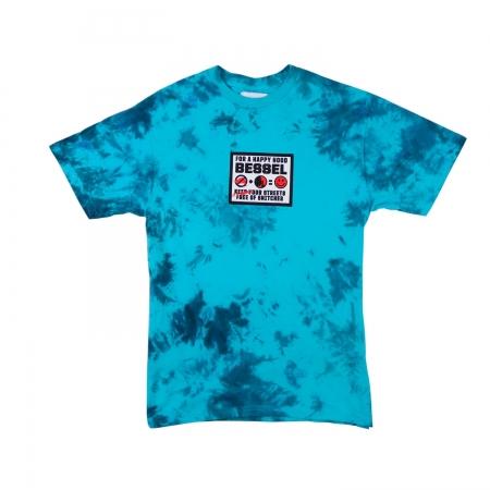Street Sing's Tee Tie Dye Blue
