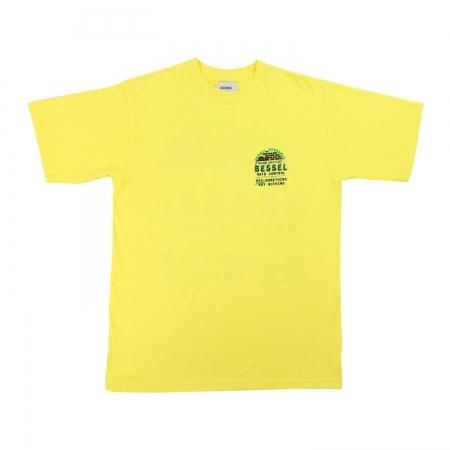 No Rats Tee Yellow Green