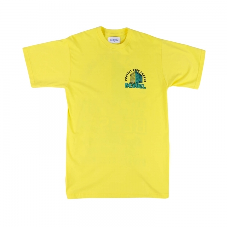 Corners Boy's Tee Yellow