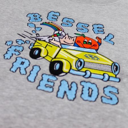 Friends II Crewneck Grey