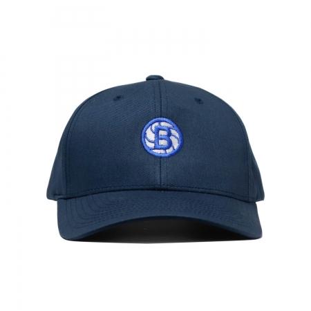 Ball Circle Clip Cap Navy