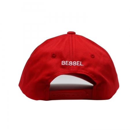 Ball Circle Clip Cap Red