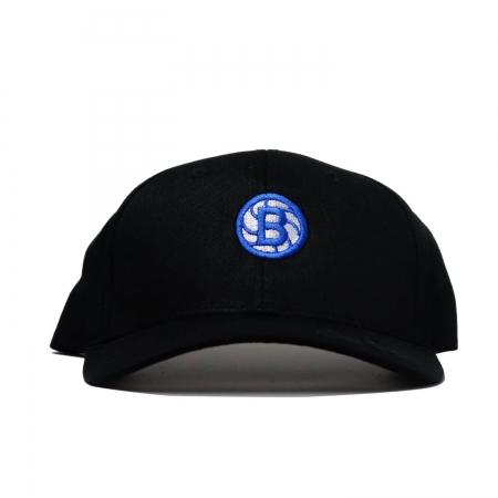 Ball Circle Clip Cap Black