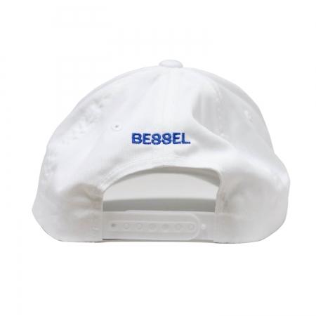 Ball Circle Clip Cap White