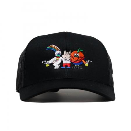 Mascots Rejilla Clip Cap Black