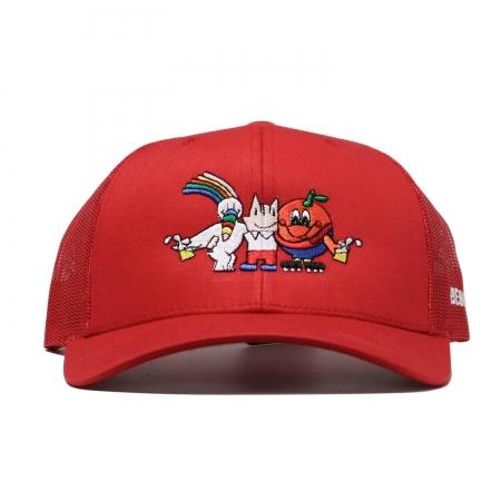 Mascots Rejilla Clip Cap Red