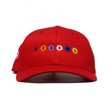 Stars Clip Cap Red