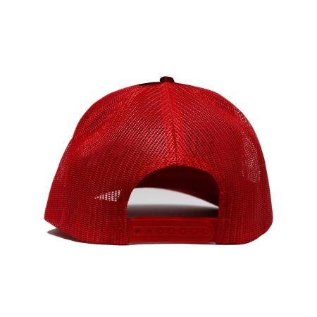 Team Logo Rejilla Clip Cap Red