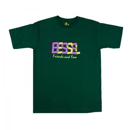 Friends & Family Tee Green