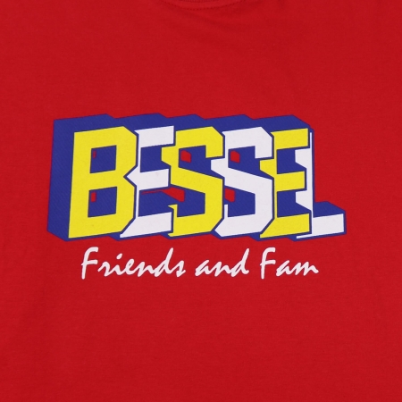 Friends & Family Tee Red