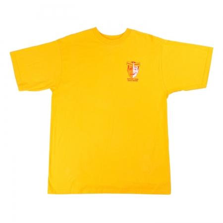 Face tee Yellow
