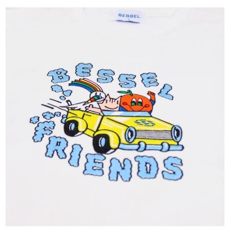 Friends II Crewneck White