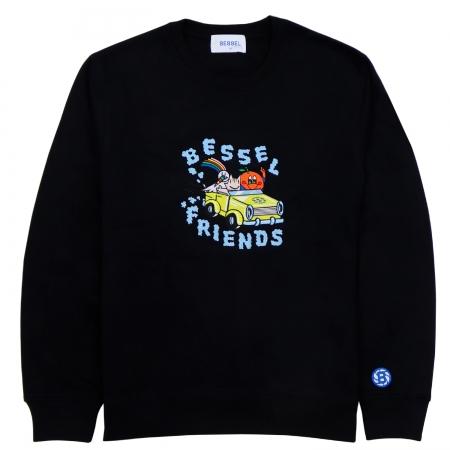Friends II Crewneck Black