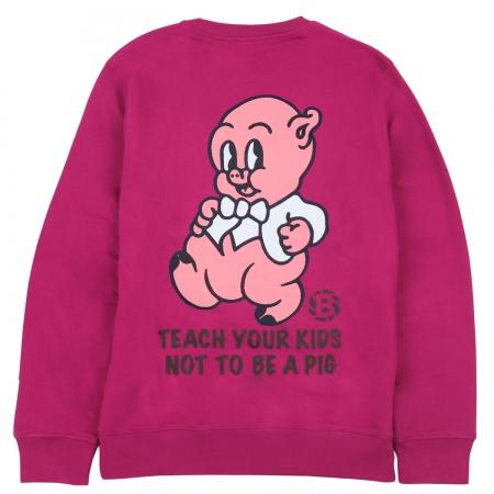 Pig Crewneck Pink