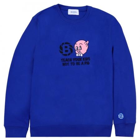 Pig Crewneck Royal