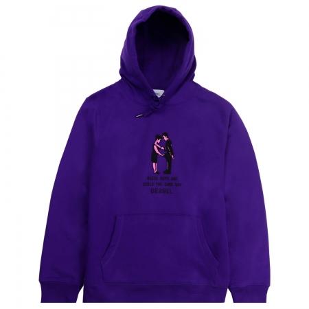 Equality Hoodie Purple