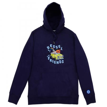 Friends II Hoodie Navy