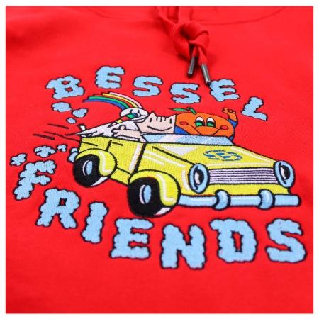Friends II Hoodie Red