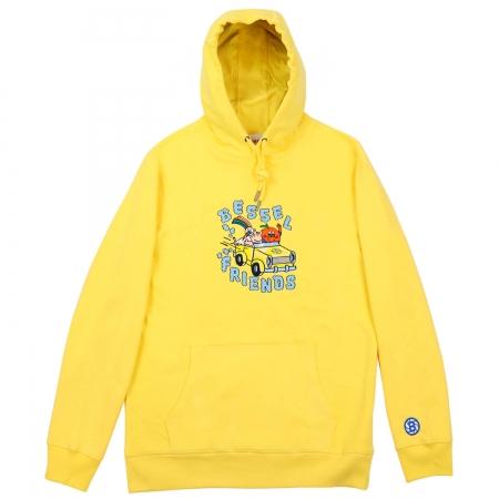 Friends II Hoodie Yellow