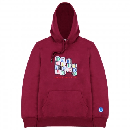 NEVER STOP PLAYING HOODIE...