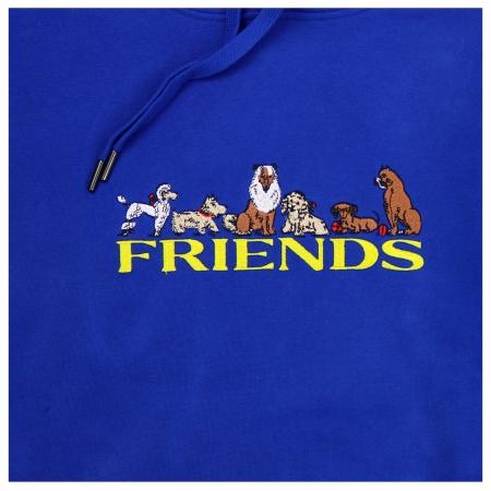 REAL FRIENDS HOODIE ROYAL