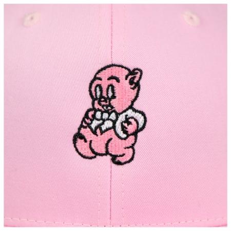PIG CLIP CAP PINK