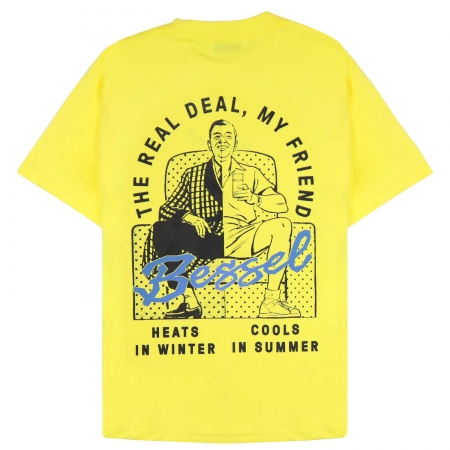 THE REAL DEAL TEE YELLOW