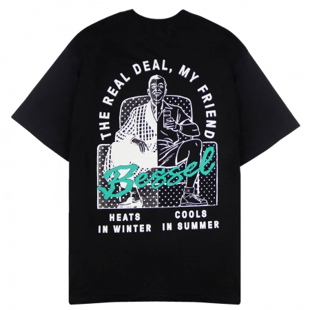 THE REAL DEAL TEE BLACK