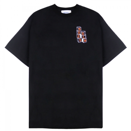 NEVER STOP PLAYING TEE BLACK